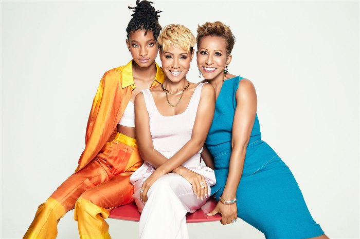 Willow Smith Jada Pinkett Smith and Gammy on Red Table Talk
