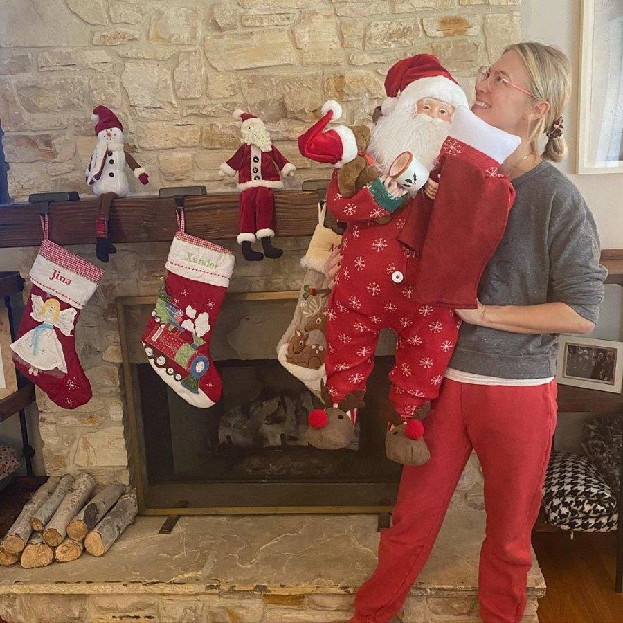 January Jones Christmas decorations
