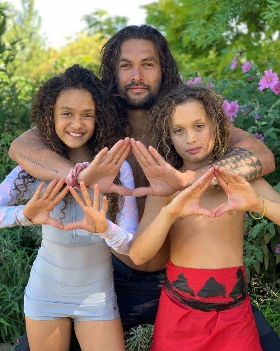 Jason Momoa How to Be a Dad Children