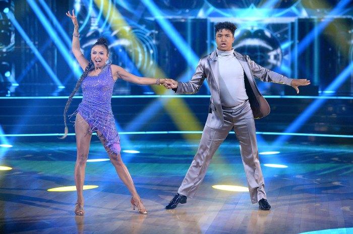 Jeannie Mai hospitalizada forzada a salir de bailar con las estrellas Brandon Armstrong