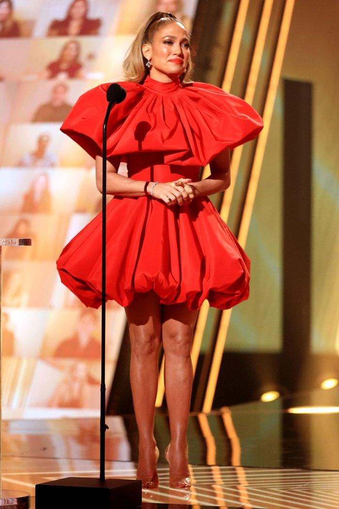 Premio Icono de Jennifer Lopez E!  Premios People's Choice 2020