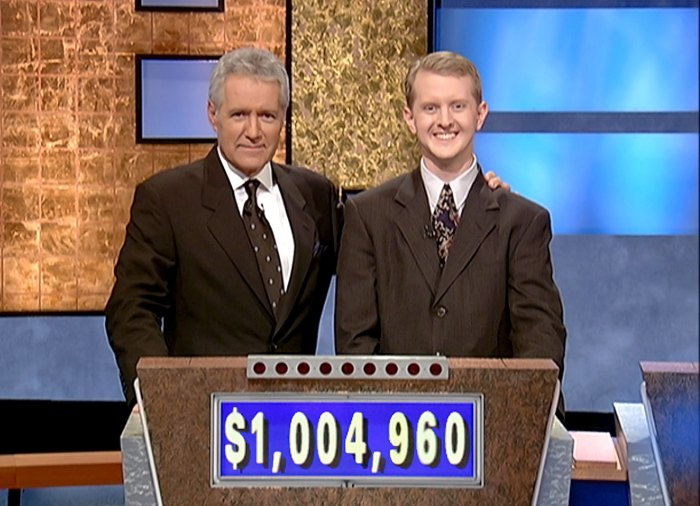 Jeopardy reanuda la producción con el presentador interino de Ken Jennings Alex Trebek