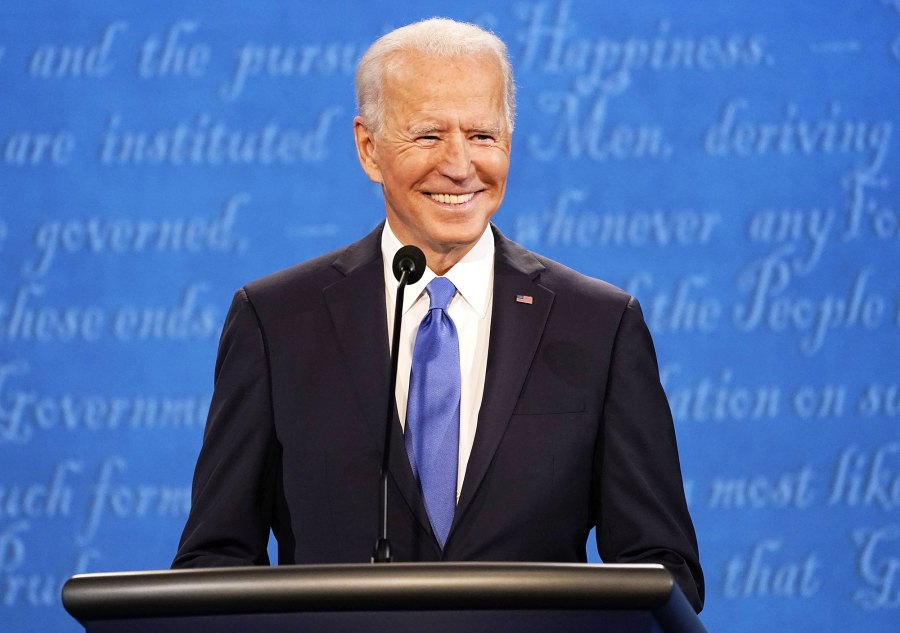 Joe Biden participates during the second and final presidential debate at Belmont University in Nashville Joe Biden Wins Presidential Election 2020 Over Donald Trump