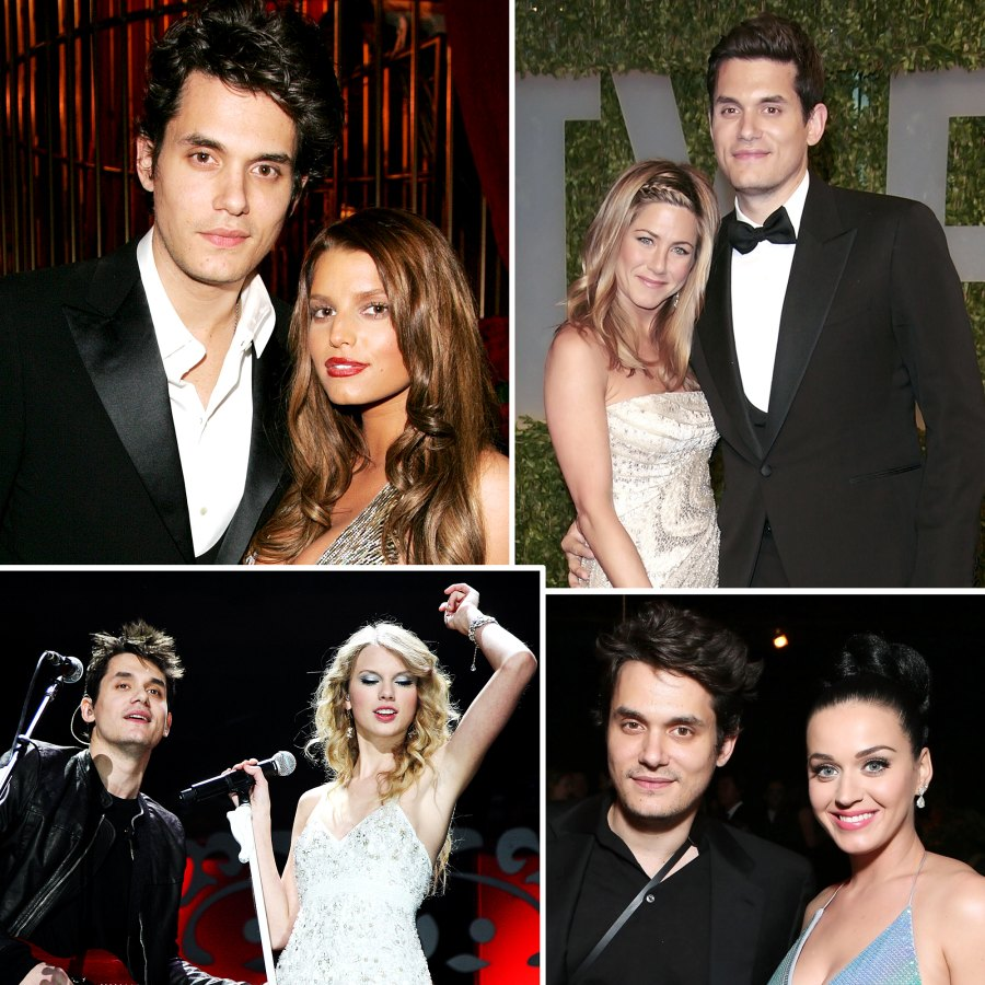 John Mayer Dating History John Mayer Dating History Jessica Simpson Jennifer Aniston Katy Perry Taylor Swift