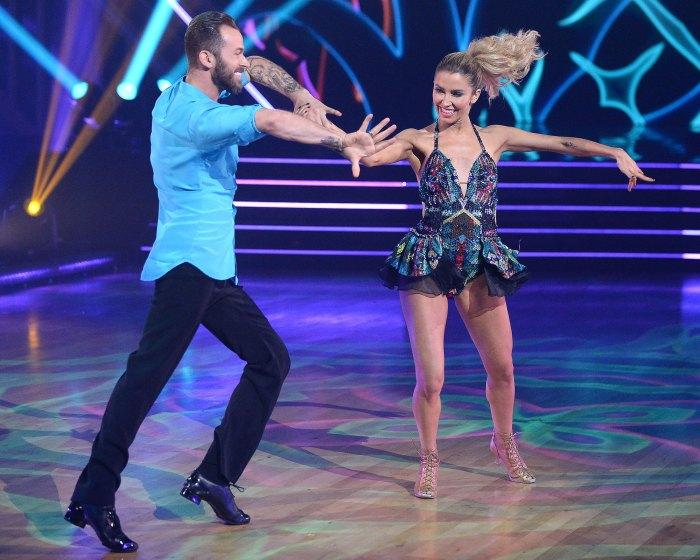 Kaitlyn Bristowe y Artem Chigvintsev cuestionan a Carrie Ann Inaba Bailando con las estrellas DWTS Juzgando