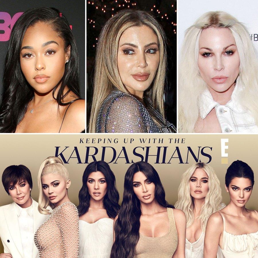 Kardashian-Jenner Family Biggest Feuds With Friends Jordyn Woods Larsa Pippen Joyce Bonelli