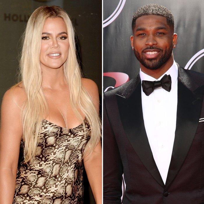 Khloe Kardashian y Tristan Thompson bromean sobre el escándalo de infidelidad