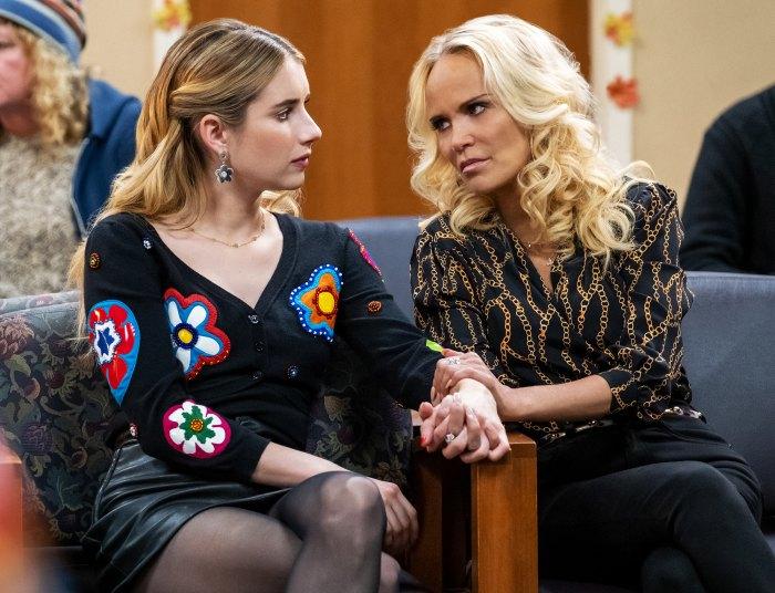 Kristin Chenoweth dice que formó una verdadera hermandad con Emma Roberts en Holidate Set