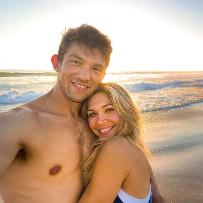 Krystal Nielson embarazada espera su primer hijo con su novio Miles Bowles