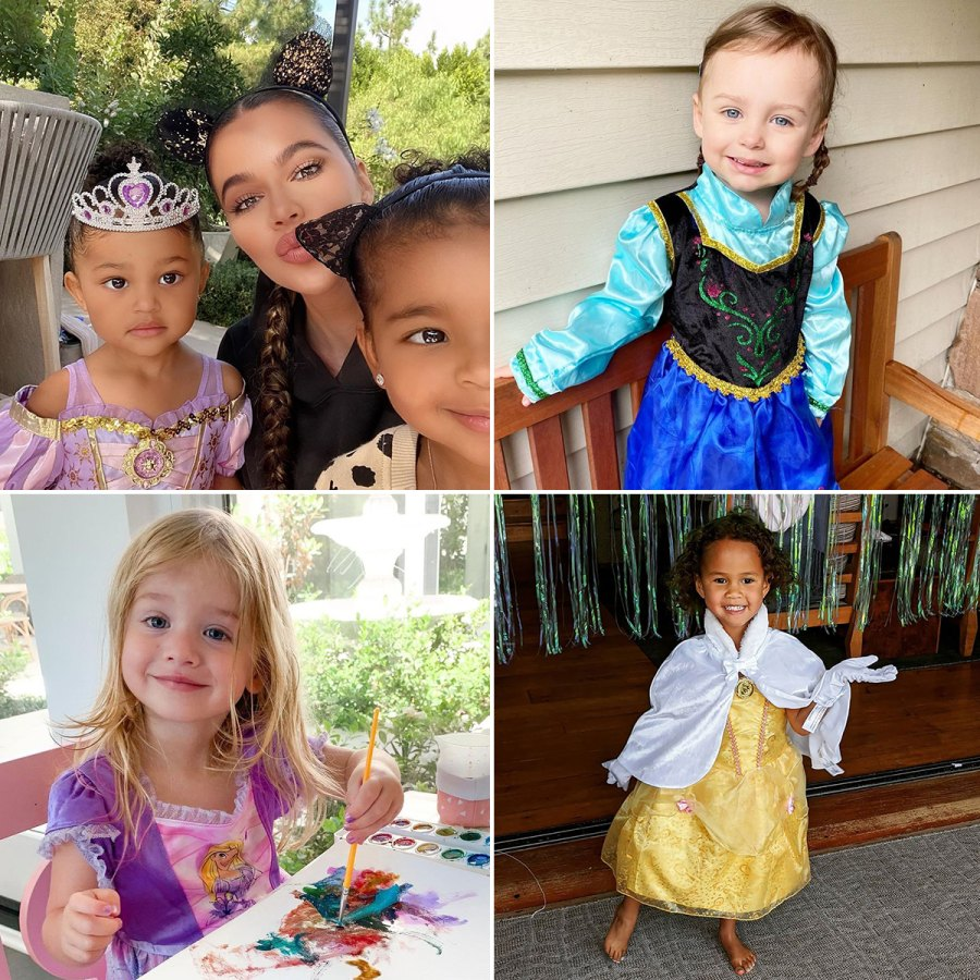 Kylie Jenner's Daughter Stormi and More Celeb Kids Rocking Princess Dresses