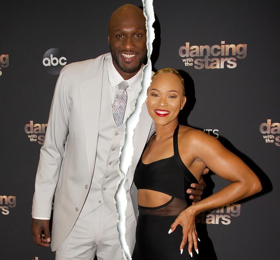 Lamar Odom and Sabrina Parr Split End Engagement
