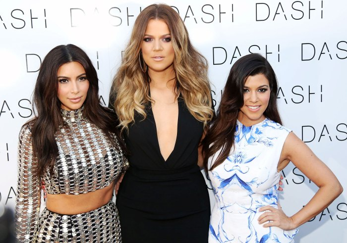 Kim Kardashian Khloe Kardashian and Kourtney Kardashian in 2014 Larsa Pippen Says She Tested Positive for COVID-19 Amid Kardashian Drama