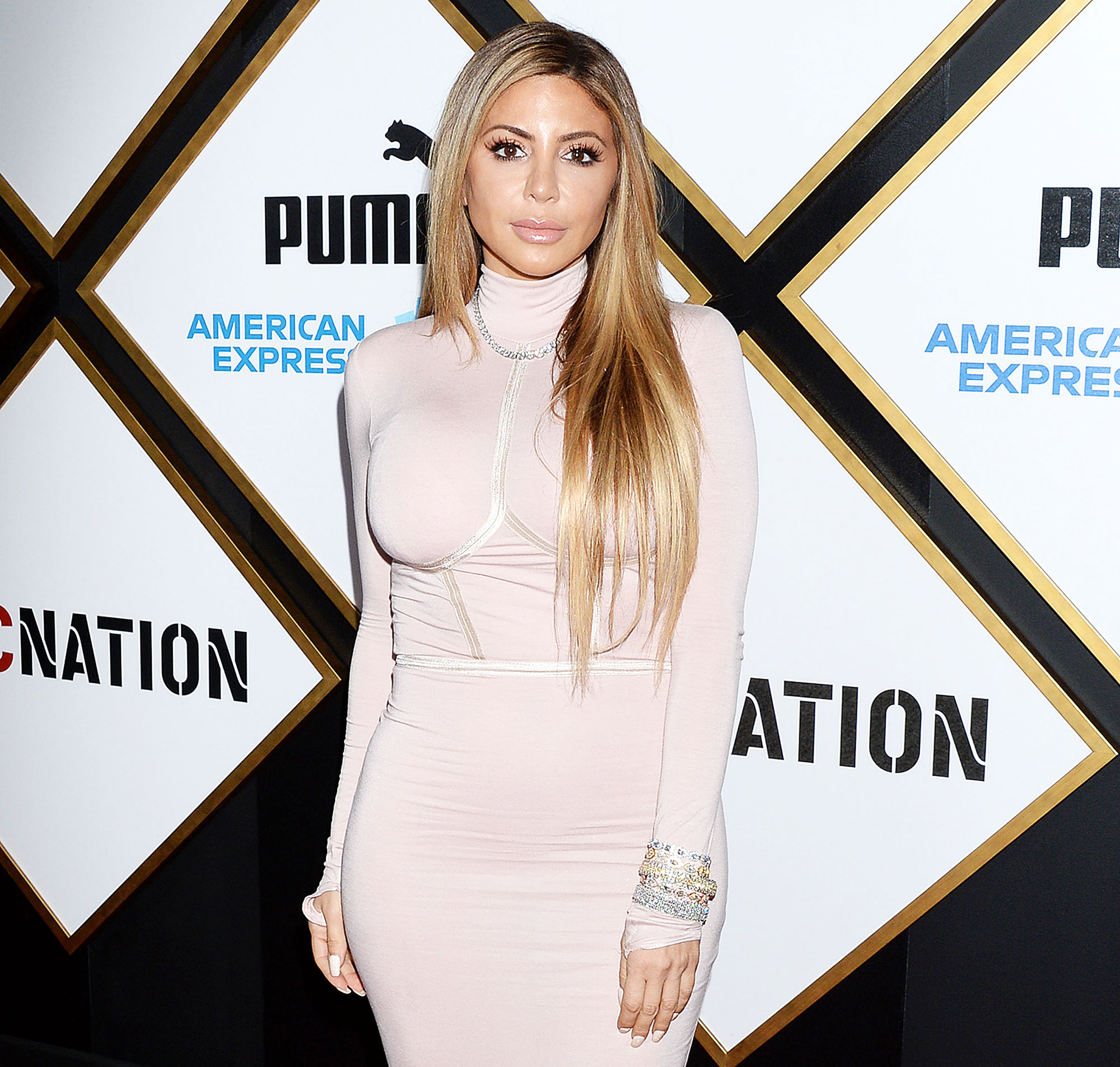 Larsa Pippen attends the ROC Nation Pre-Grammy Brunc Larsa Pippen Says She Tested Positive for COVID-19 Amid Kardashian Drama