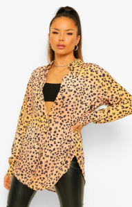 Leopard Oversized Shirt