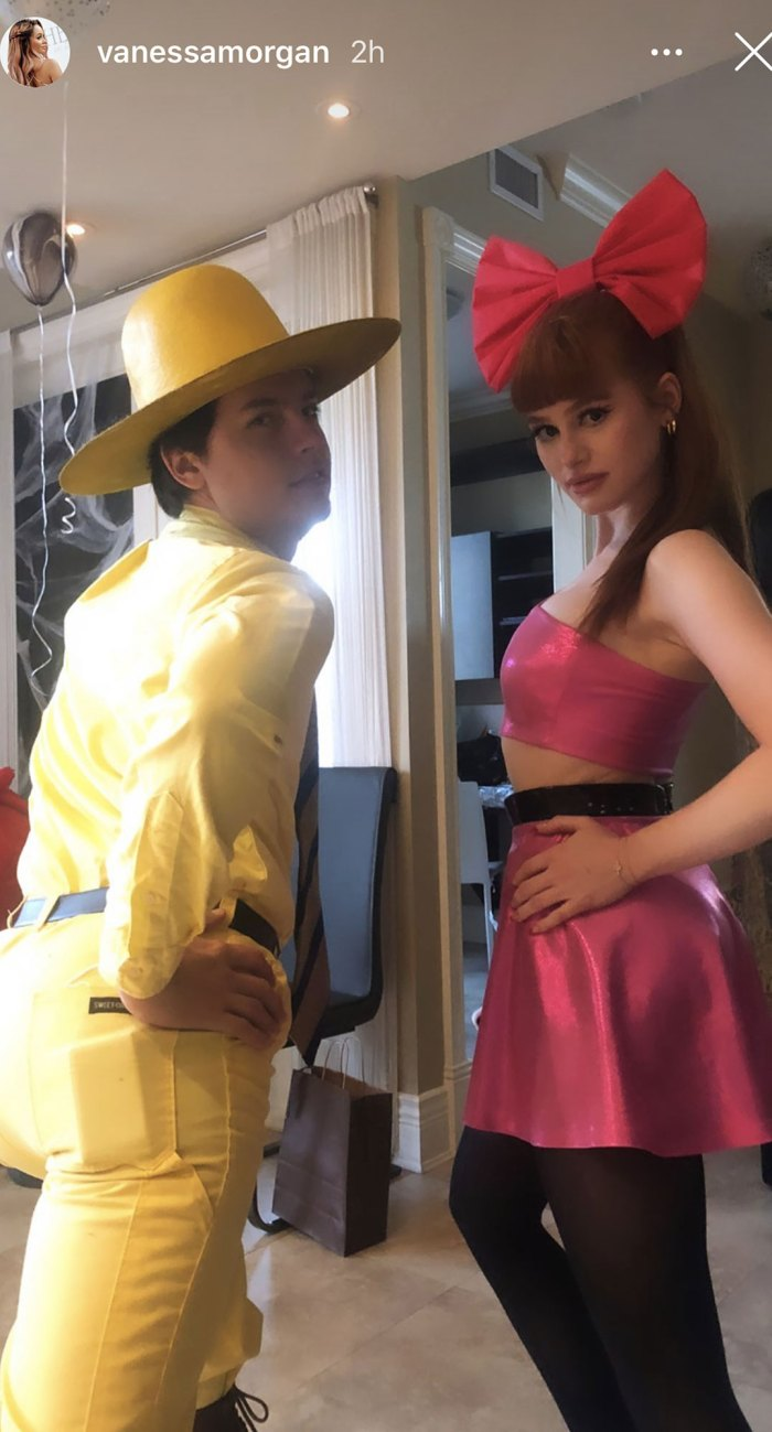 Lili Reinhart and Cole Sprouse Spend Halloween Together Alongside Riverdale Castmates Madelaine Petsch