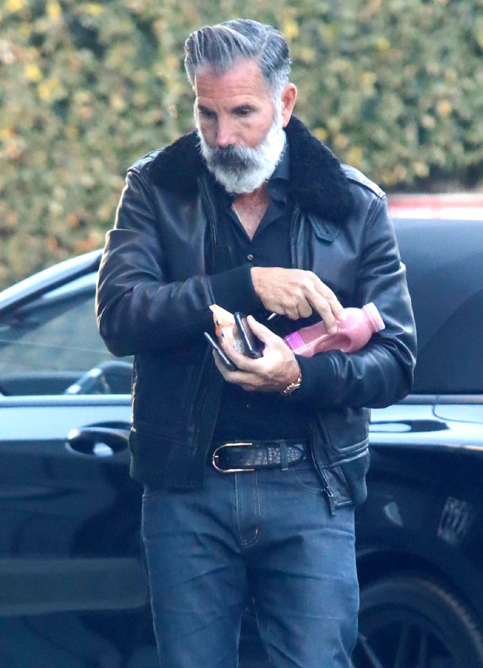 Lori Loughlin Husband Mossimo Giannulli Debuts New Look 2 Days Before Expected to Report to Prison Grey Beard