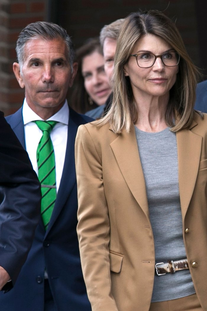 Lori Loughlin Husband Mossimo Giannulli Debuts New Look 2 Days Before Expected to Report to Prison