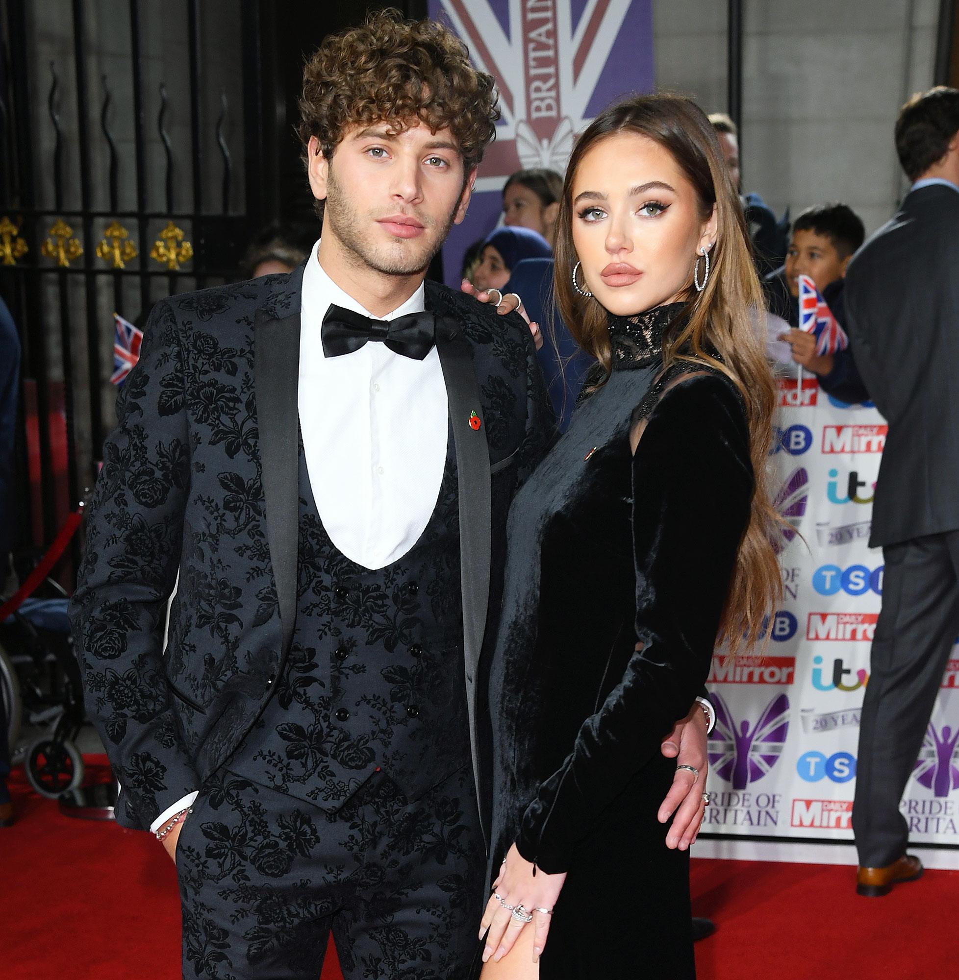 Eyal Booker and Delilah Hamlin attend the Pride of Britain Awards Megan Barton-Hanson Hits Back at Scott Disick Over Delilah Hamlin Boyfriend Eyal Booker