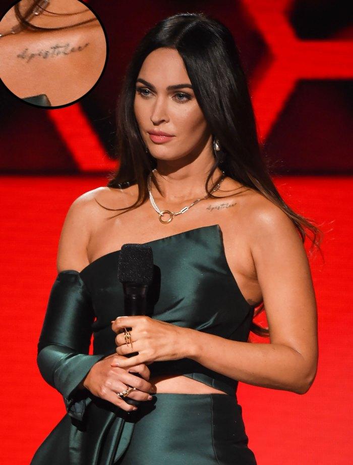 Megan Fox Reveals a Tattoo for Machine Gun Kelly