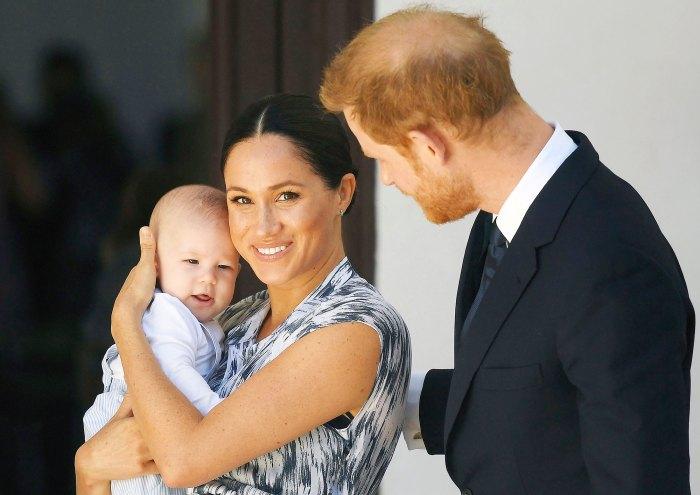 Meghan Markle y el príncipe Harry con Archie en Ciudad del Cabo Meghan Markle revela que ella y el príncipe Harry sufrieron un aborto espontáneo