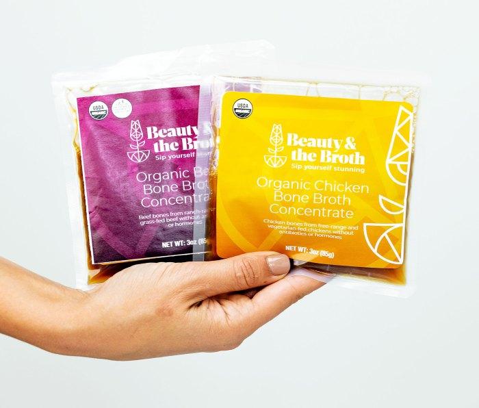 Melissa Bolona nos cuenta cómo Beauty and the Broth Bone Broth ayuda a la salud intestinal Cabello brillante y piel radiante