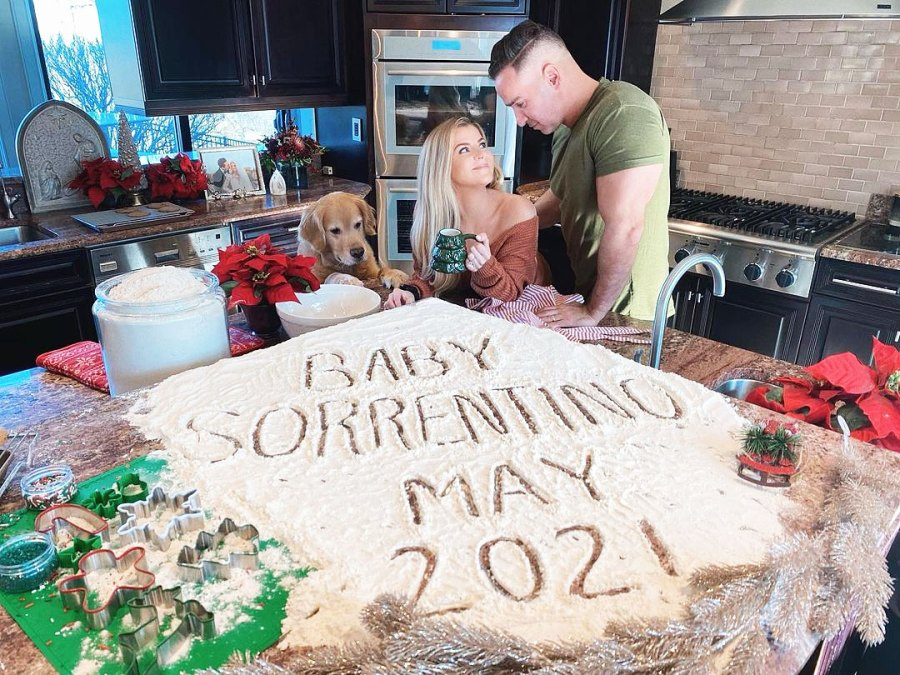 Mike The Situation Sorrentino and Lauren Sorrentino Pregnant