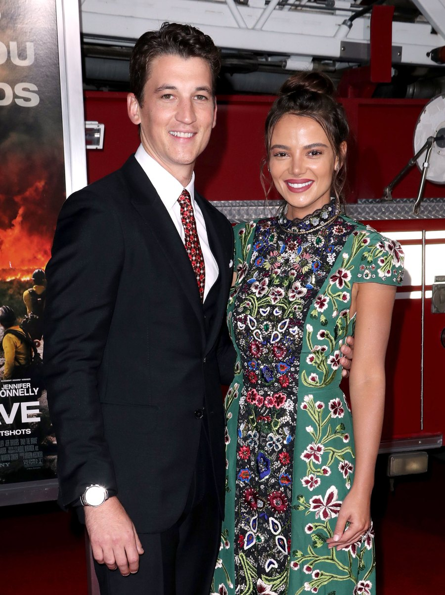 Miles Teller and Keleigh Sperry Stars Who Fell in Love With Non-Famous People