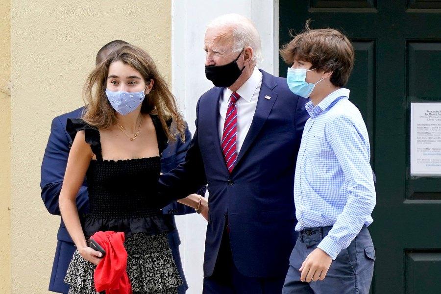 Natalie Biden and Hunter Biden