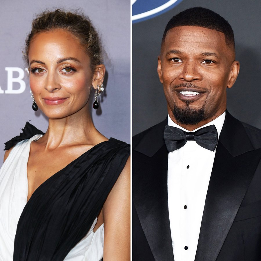 Nicole Richie and Jamie Foxx Celebrities Who Were Adopted