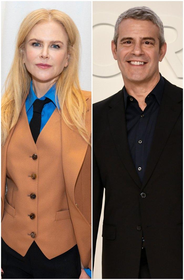 Nicole Kidman bromea con Andy Cohen sobre su personaje de 'deshacer' Grace siendo una verdadera ama de casa
