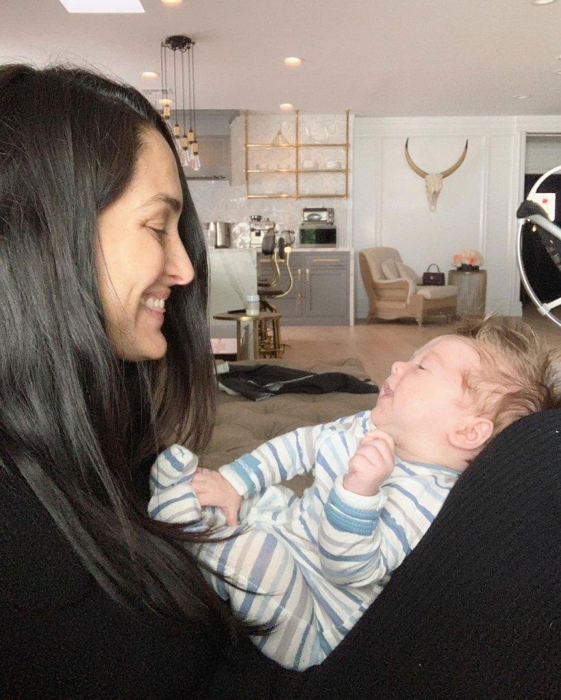 Nikki Bella Describes Tough Breast-Feeding Experience Matteo