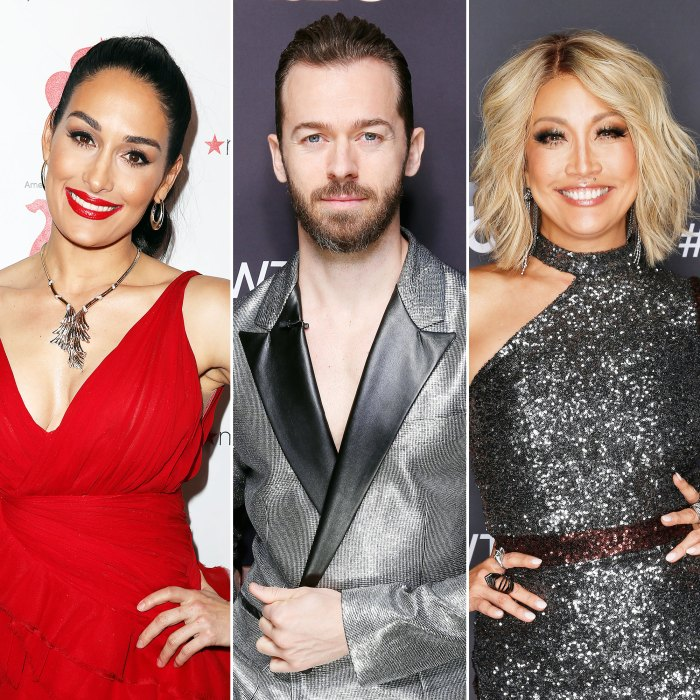 Nikki Bella Reveals Artem Chigvintsev Made an Apology Video for Carrie Ann Inaba After Dancing With The Stars Drama