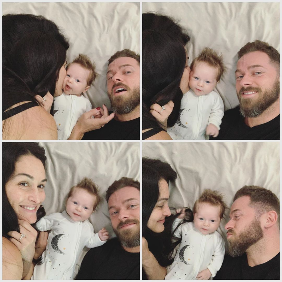 Nikki Bella Says Son Matteo Would Stay With Her Over Artem Chigvintsev