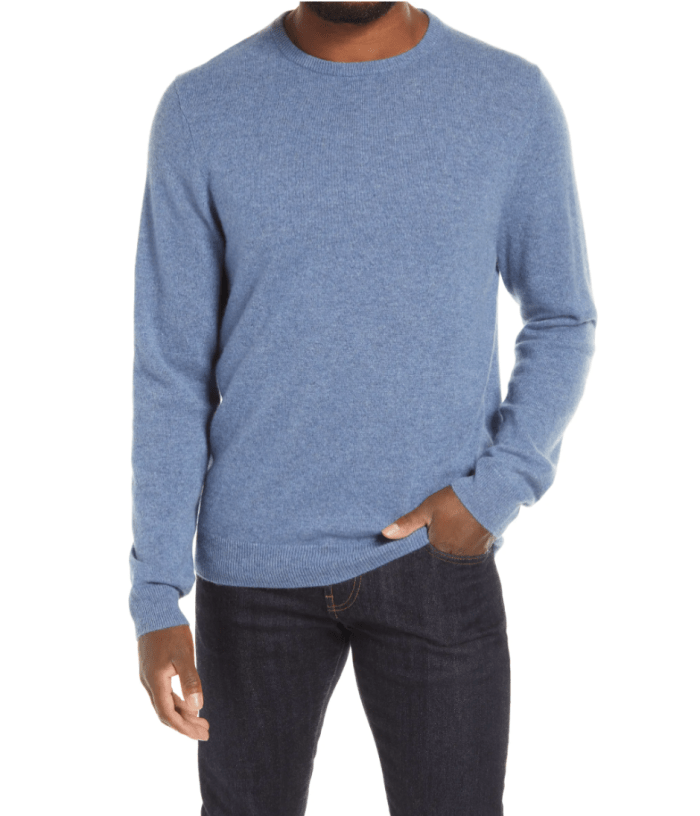 Nordstrom-Men's-Shop-Cashmere-Crewneck-Sweater