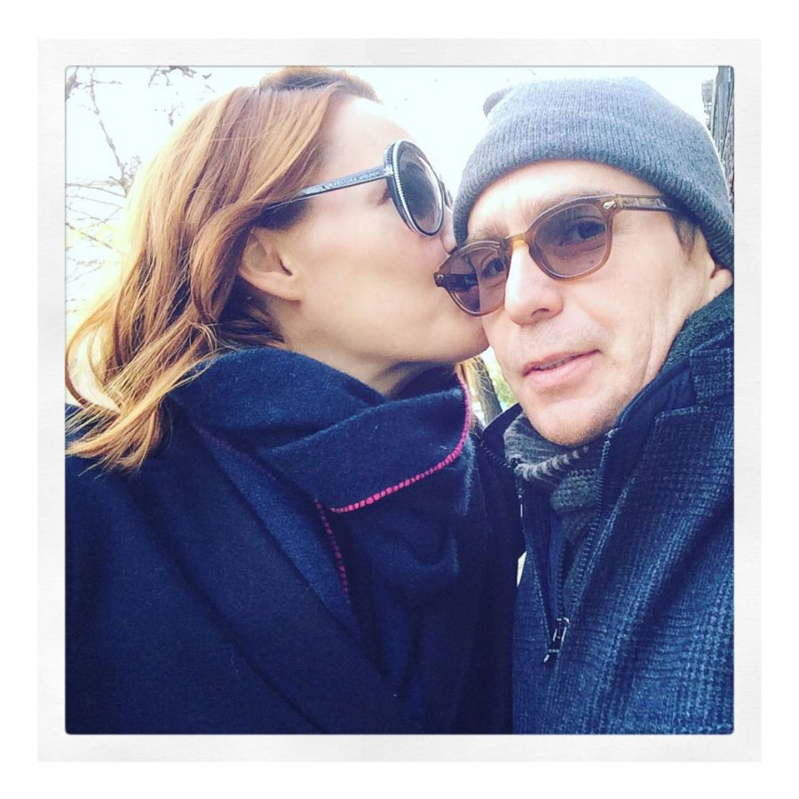 November 2015 Thanksgiving Leslie Bibb Instagram Sam Rockwell and Leslie Bibb Relationship Timeline