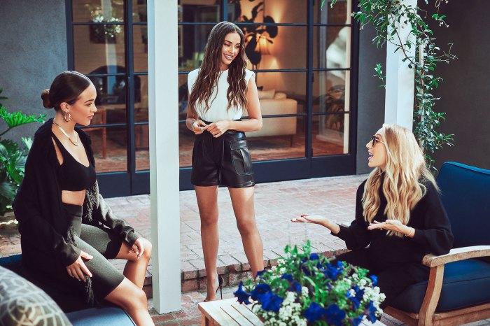 Sophia Culpo Olivia Culpo y Aurora Culpo promueven su línea Culpo x INC para Macys