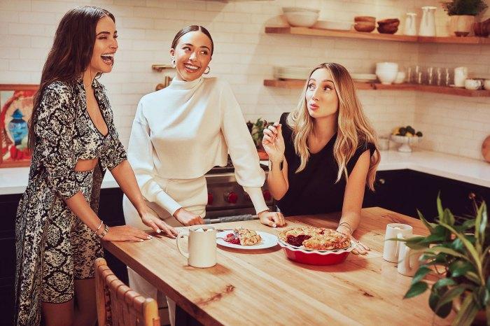 Olivia Culpo Sophia Culpo y Aurora Culpo promueven su línea Culpo x INC para Macys