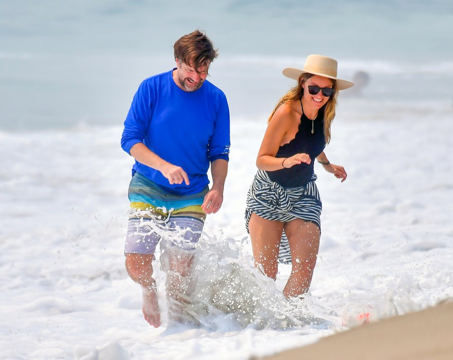 Olivia Wilde and Jason Sudeikis Showed PDA at Beach 2 Months Before Split News