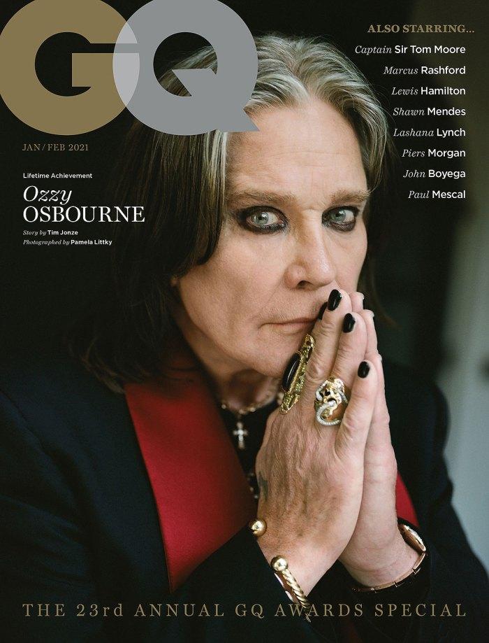 Ozzy Osbourne lamenta haber engañado a Sharon British GQ