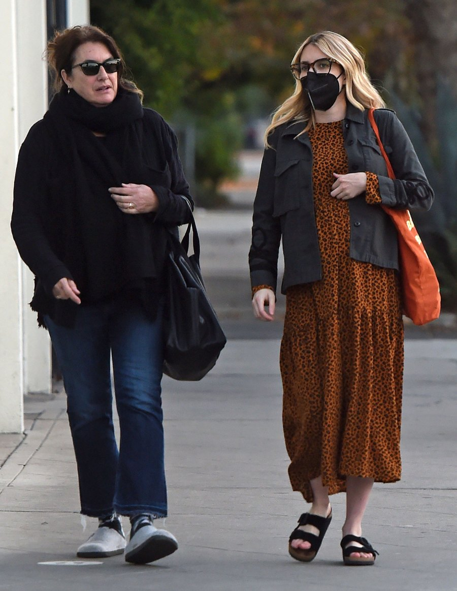 Out and About! See Pregnant Emma Roberts' Baby Bump Pics