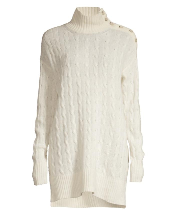 Suéter clásico con hombros descubiertos de Ralph Lauren
