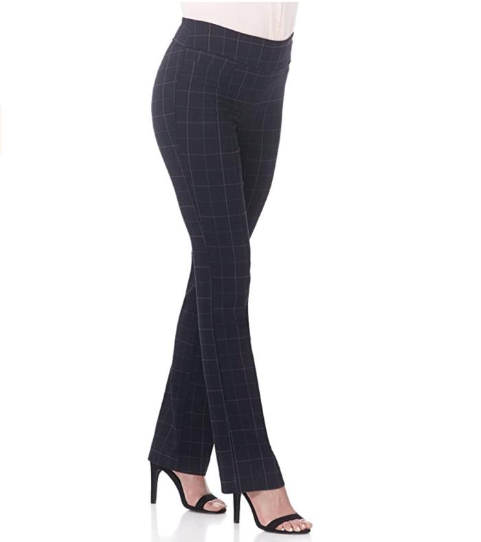 Pantalón Rekucci Ease into Comfort Boot Cut para mujer