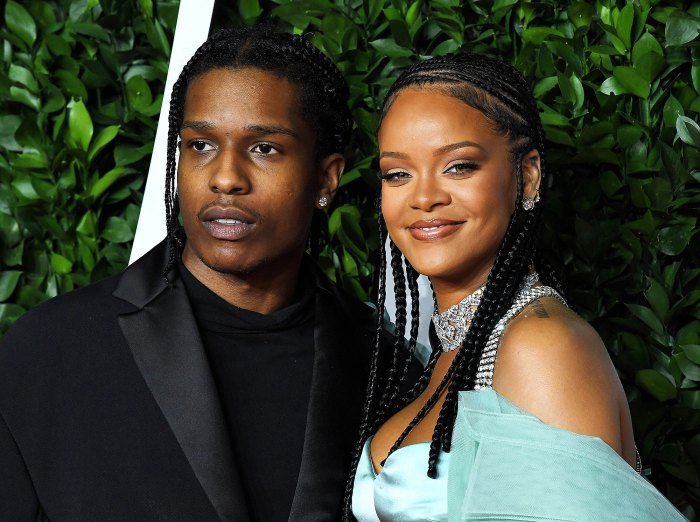 Rihanna Spotted With ASAP Rocky