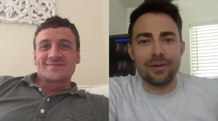 Ryan Lochte y Jonathan Bennett ponen a prueba su amistad