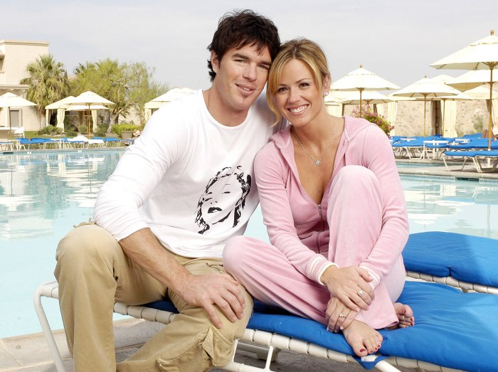 Trista and Ryan Sutter in 2003 Trista Sutter Claims Producers Pre-Planned Story Lines for Televised Wedding Special
