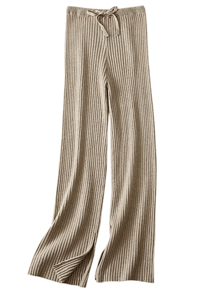 Pantalones anchos de cachemir de mujer SANGTREE