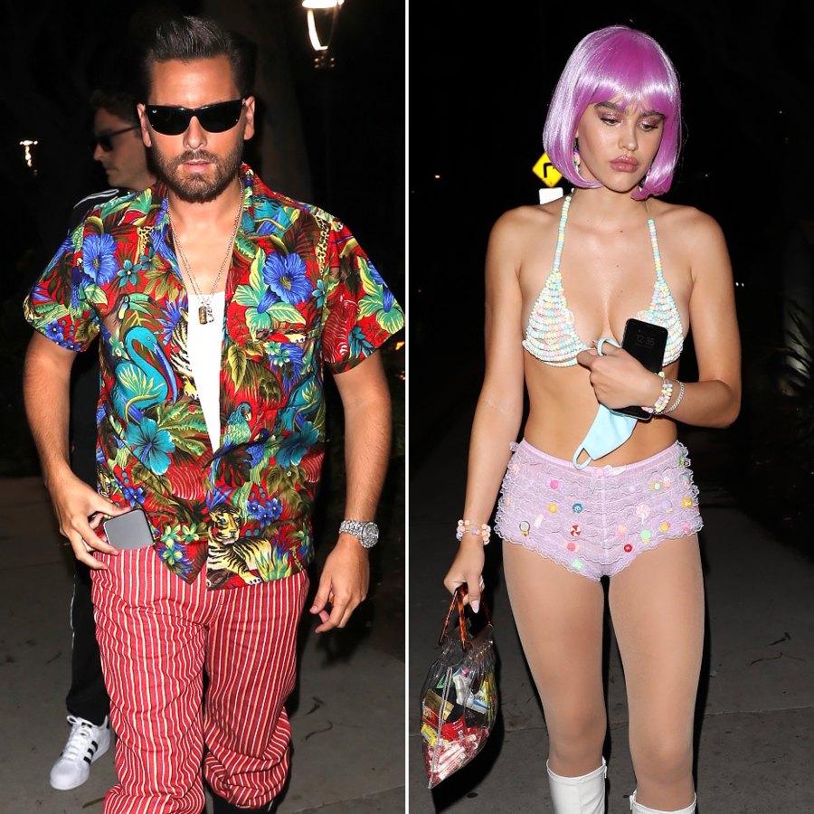 Scott Disick Attends Halloween Party With Amelia Hamlin After Cozy Pics With Kourtney Kardashian