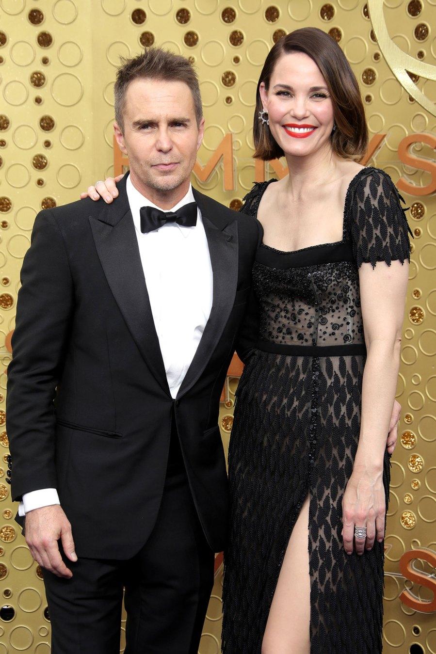 September 2019 Emmys Sam Rockwell and Leslie Bibb Relationship Timeline