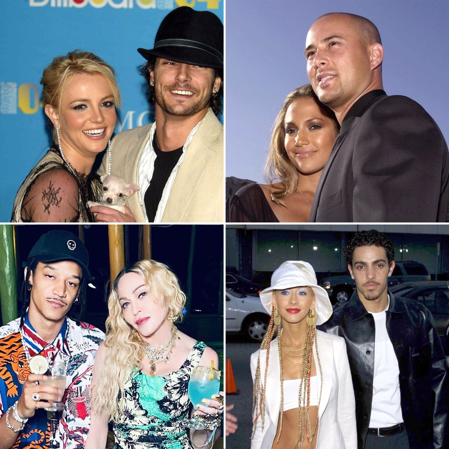 Stars Who Dated Their Backup Dancers