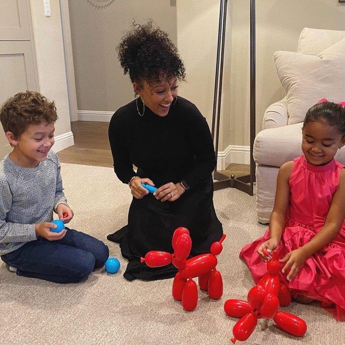 Tamera Mowry Normalcy pour mes enfants cette saison des fêtes